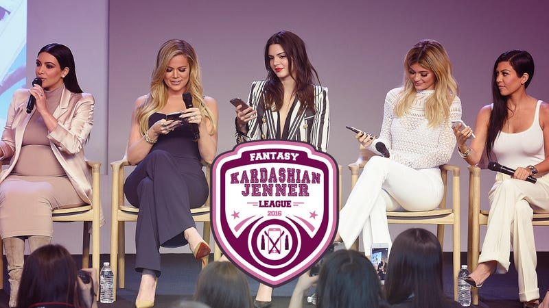 Illustration for article titled Welcome to Our First Annual Fantasy Kardashian-Jenner League Draft