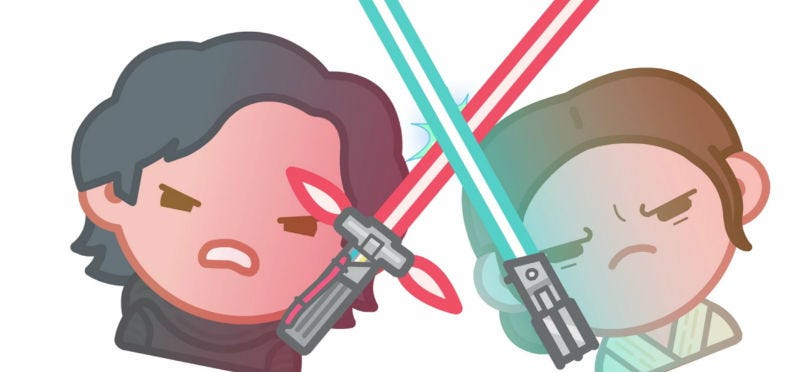 Illustration for article titled The Force Awakens Told by Emojis Is Both Adorable and Awesome