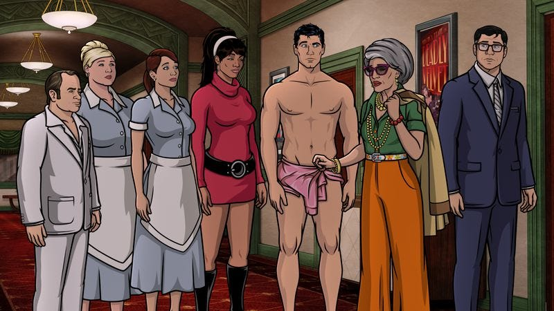 Illustration for article titled Archer finally gives its bumbling detectives a real mystery to solve