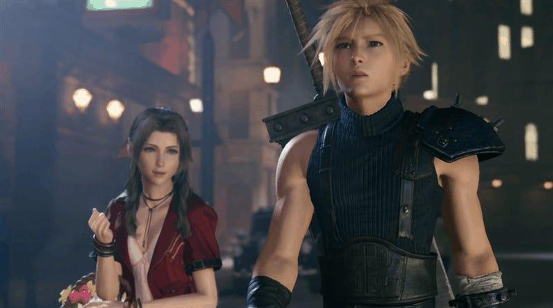 I Can't Go Through This Again, Final Fantasy VII