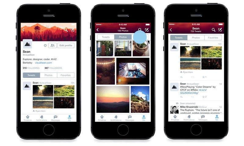 Twitter aprovecha iOS 8 para rediseñar por completo su app