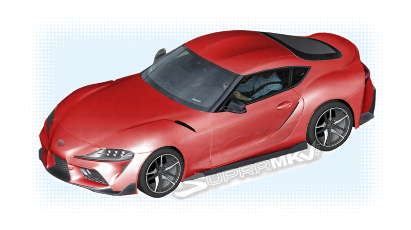 Illustration for article titled 2019 Toyota Supra: Pretty Much The Whole Car From Some LeakedParts Diagrams