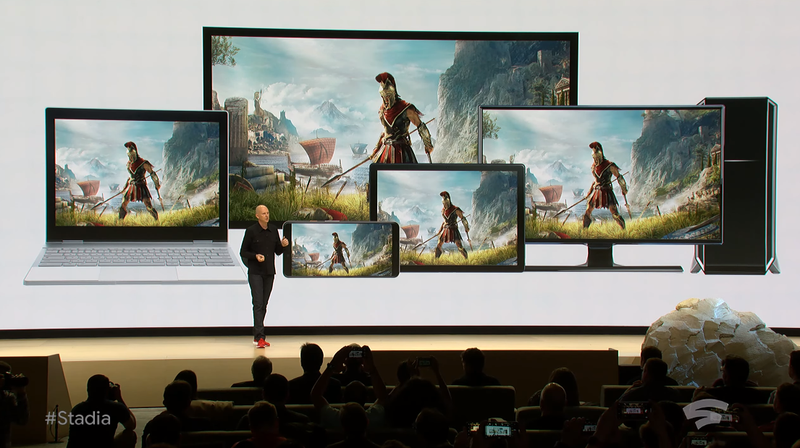 Illustration for article titled Google Unveils Gaming Platform Stadia, A Competitor To Xbox, PlayStation And PC