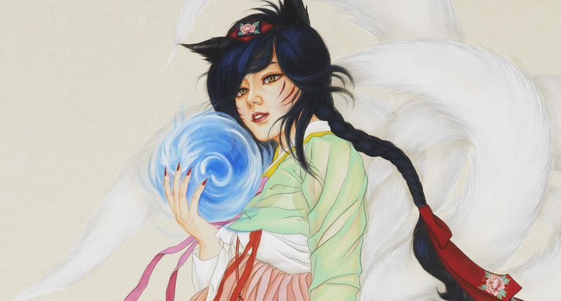 Illustration for article titled League of Legends Turned into Beautiful Korean Art