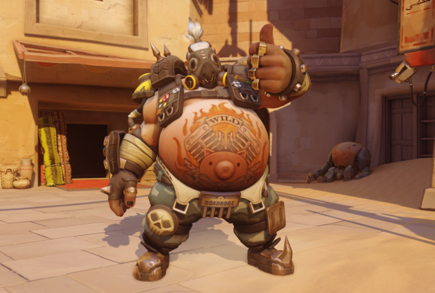 Next Overwatch Patch Addresses Roadhog's Chain Hook