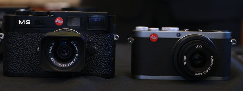 """Illustration for article titled Leica Debuts 18-Megapixel Full-Frame M9 Rangefinder, X1 Compact for """"Beginners"""""""