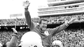 """Illustration for article titled """"Just A Hunch"""": To Win What Might Have Been His Biggest Game, Darrell Royal Had Texas Do The Very Thing He Hated"""