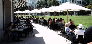 Illustration for article titled Review: Apple HQ Cafeteria