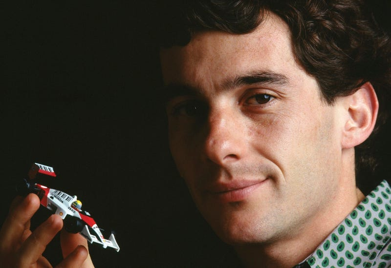 Illustration for article titled What's happening in a world where Ayrton Senna is alive?