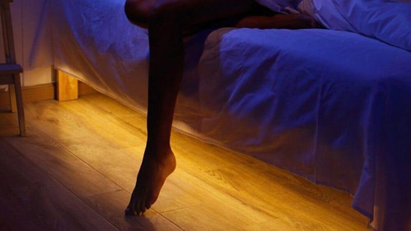 Vansky Motion-Activated Under-Bed Night Light, $20