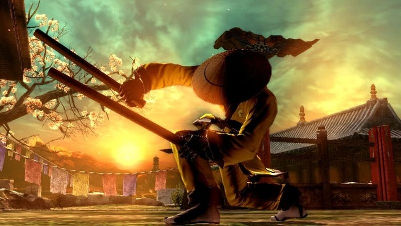 Illustration for article titled Cardboard Tube Samurai Coming to Tekken 6?