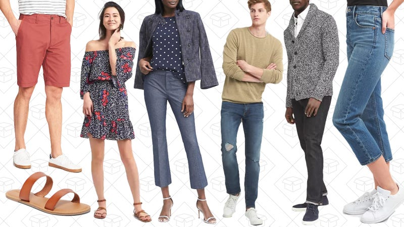 40% off everything | Banana Republic, GAP, Old Navy | Use code STYLEExtra 10% off everything | GAP | Use code BONUS