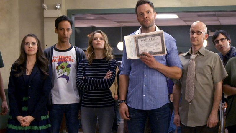 Illustration for article titled Dan Harmon offers a tentative date for Community's return