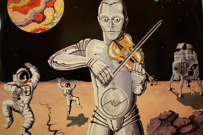 Illustration for article titled Galactic 1970s Album Covers Are All Robot Nipples And Space Cocaine
