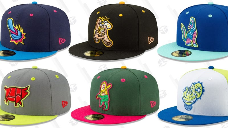 Illustration for article titled Minor League Baseball's Copa de la Diversión Hats, Ranked