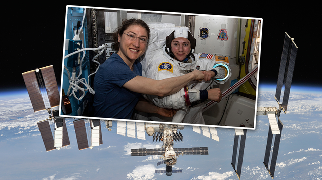 The First All-Woman Spacewalk Is Happening Right Now