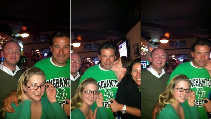 Illustration for article titled It's All Green Beer And Puke Until Smirking Billy Baldwin Shows Up To St. Patrick's Day In Philly