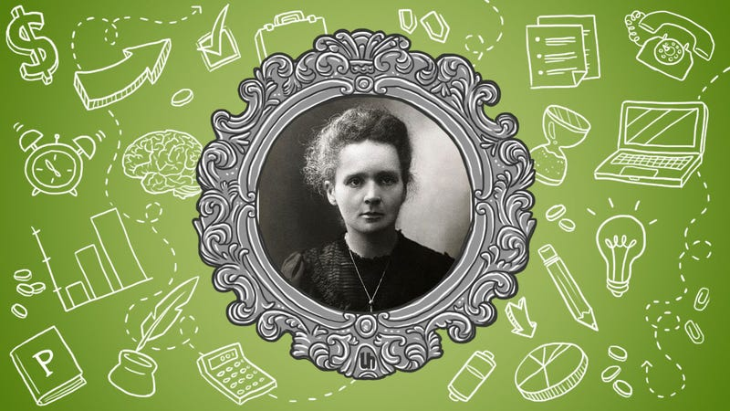 Illustration for article titled Marie Curie's Best Productivity Tricks