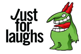 Illustration for article titled Just for laughs.
