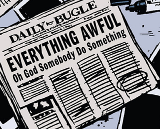 Illustration for article titled Marvel Is Putting Out A Faux-Newspaper To Try And Explain Secret Wars