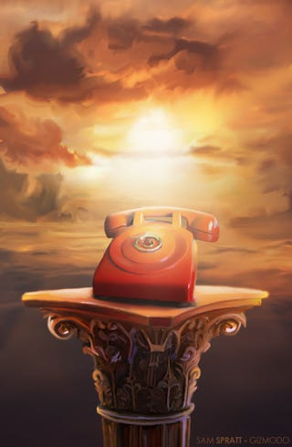 Illustration for article titled An Ode to Landlines and Desk Phones