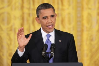 President Obama is losing 2008 donors. (Getty)