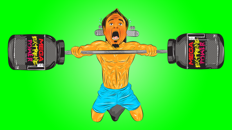 Illustration for article titled Weightlifting Supplements Are Terrible, But I Love Them Anyway