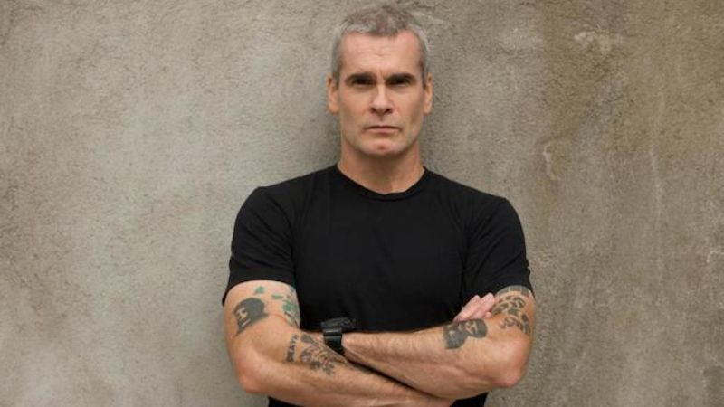 Illustration for article titled Henry Rollins has more to say, creates podcast to do so