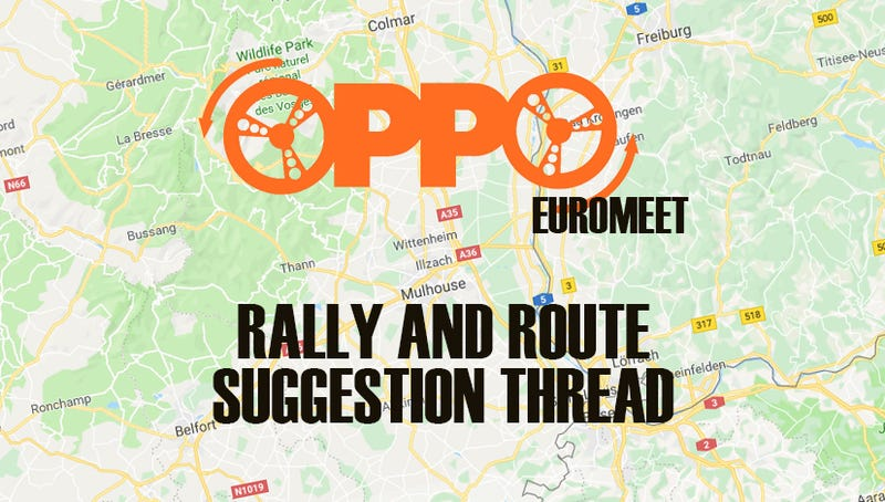 Illustration for article titled Europpomeet 2019 - Driving routes and Suggestions Thread