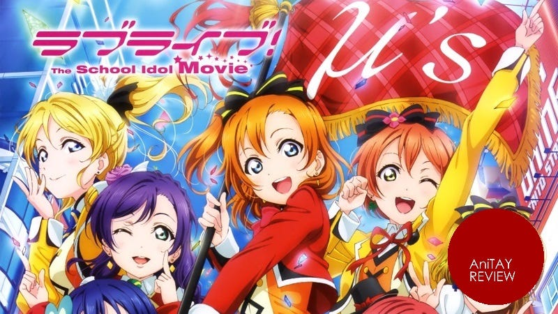 Illustration for article titled Love Live! The School Idol Movie - The AniTAY Review
