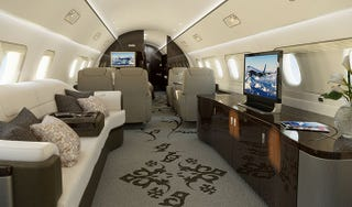 Embraer's Lineage 1000 Executive Jet Is A Flying House