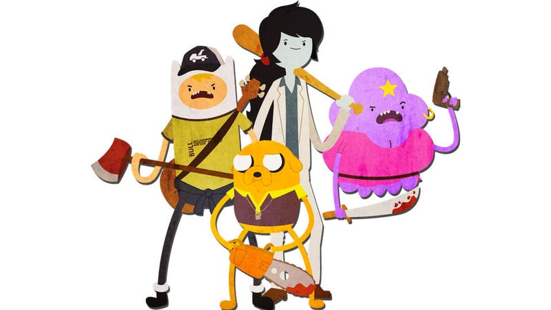Illustration for article titled And Now I Need To See A Left 4 Dead 2-Themed Adventure Time Episode
