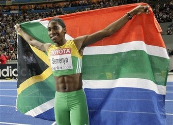Illustration for article titled Semenya Takes Gold, But Gender Issue Is Ongoing