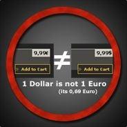 Illustration for article titled Dollar No Longer Weak Vs. Euro (on Steam)