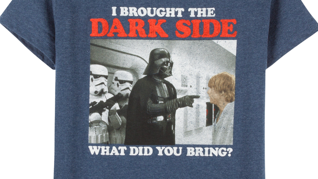 Why The Hell Does This Boys' Star Wars Shirt Replace Princess Leia With Luke?