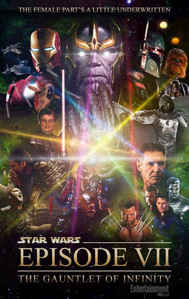 Illustration for article titled Episode VII: Gauntlet of Infinity