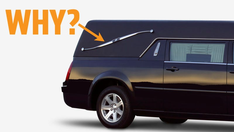 Illustration for article titled Landau Bars On Hearses Are So Very Stupid