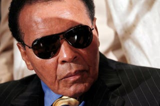 Muhammad Ali in 2011Win McNamee/Getty Images