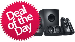 Illustration for article titled Logitech Z506 5.1 Surround Sound Speakers Are Your Musical Conquest Deal of the Day