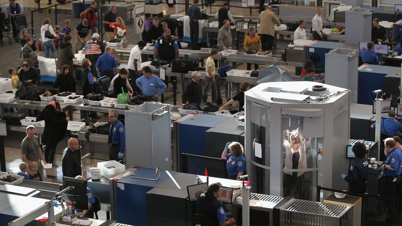 Illustration for article titled The TSA is Testing a Scanner That Might Speed Up Security