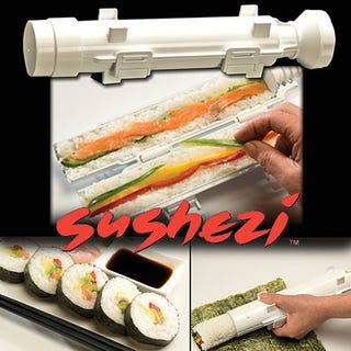Illustration for article titled Sushi-Making Tube is More Like a Sushi-Making Lightsaber