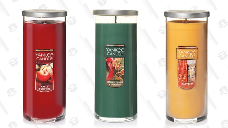 Buy One, Get Two Free Large Pillar Candles | Yankee Candle | Promo code PERFECT