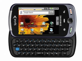 """Illustration for article titled This is """"The Moment"""" For a Samsung Android OLED QWERTY Slider on Sprint"""