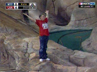 Illustration for article titled The Waterfall At Angels Stadium Is Not A Public Swimming Pool