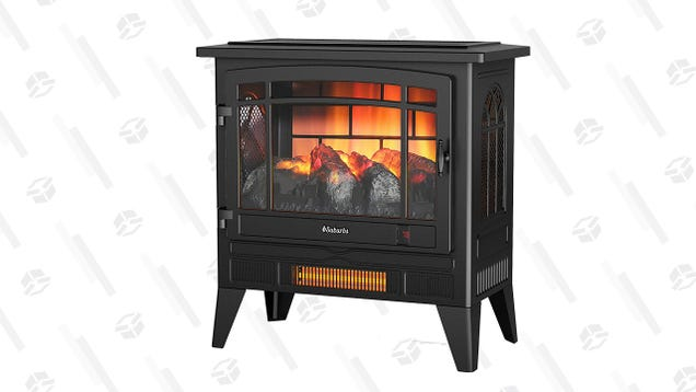Stay Cozy With up To 28% off a Turbro Electric Fireplace