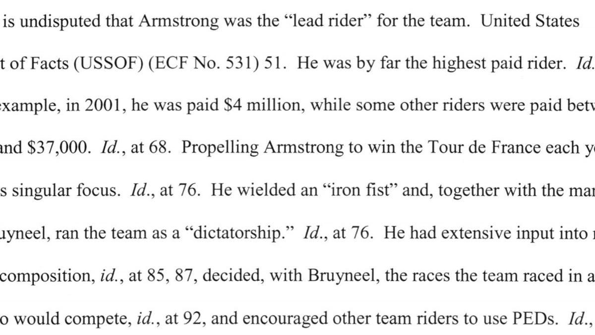 The Ridiculous Saga Of Lance Armstrong 427c41455