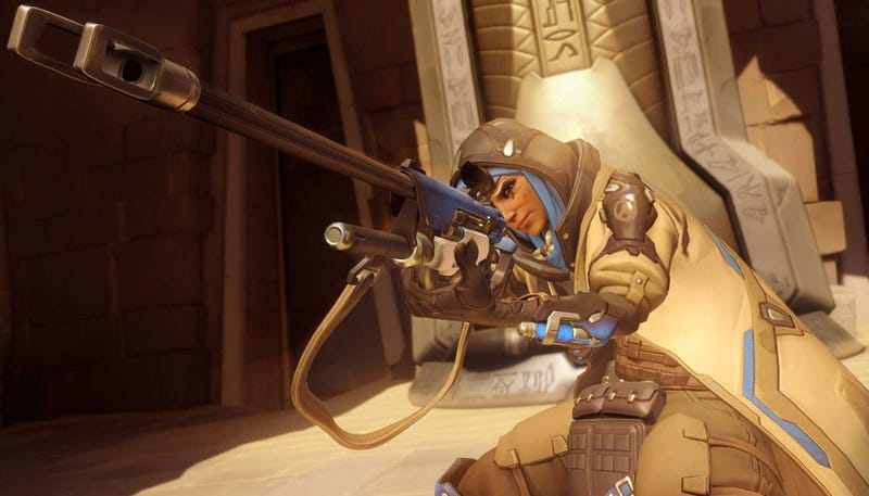 The new Overwatch hero Ana is now live