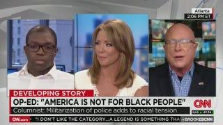 Greg Howard Goes On CNN