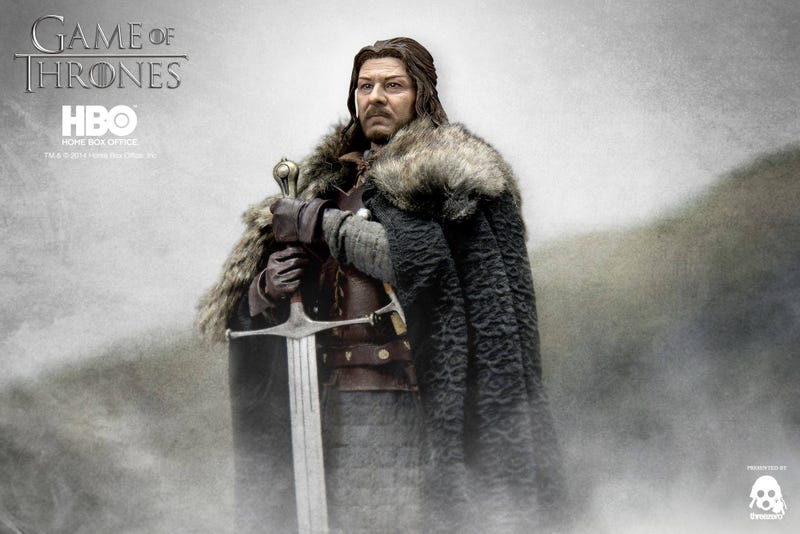 Illustration for article titled Winter is Coming, and so is this crazily detailed Ned Stark figure