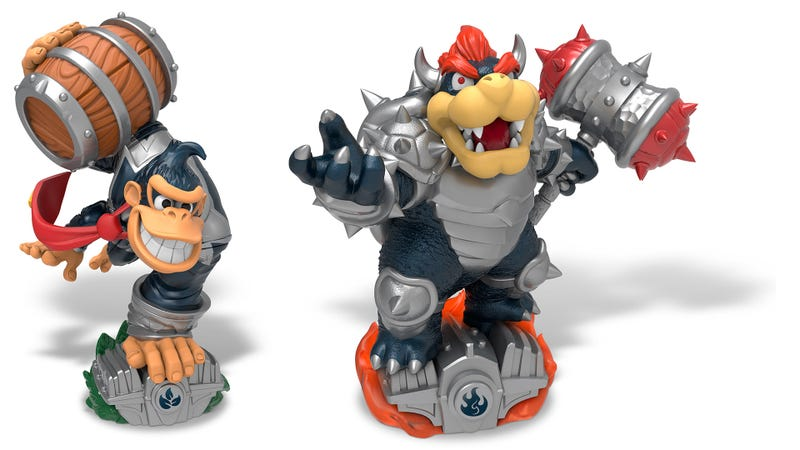 Illustration for article titled SuperChargers Dark Editions Complicate Skylander And Amiibo Collecting